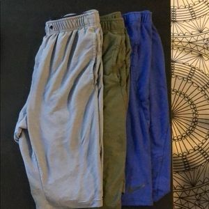 Nike Dry Fit Shorts - lot of 3
